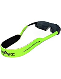 Gafas de seguridad corredizo Wrapz grosor de cinta fluorescente verde nada