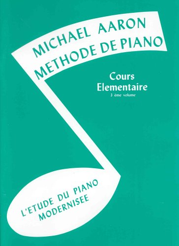Cours Elémentaire Volume 3 - Piano