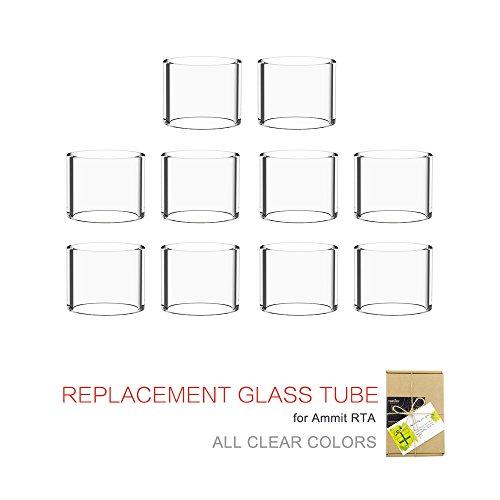 (10-pack) Topuro Ammit RTA Ersatz Pyrex Glas Tube Transparente Farben
