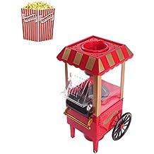 Chengl La Mini máquina de Palomitas de maíz es Adecuada para familias, Bares, cafés