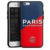 DeinDesign Coque en Silicone Compatible avec Apple iPhone 6s Étui Silicone Coque Souple Paris Saint-Germain Produit sous Licence Officielle PSG