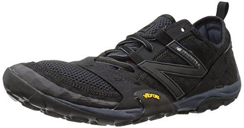 2e Herren-laufschuh-10 (New Balance Men's MT10V1 Trail Running Shoe, Black/Silver, 10 2E US)