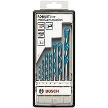 Bosch 2 607 010 543  - Juego de 7 brocas multiuso Robust Line CYL-9 Multi Construction - 4; 5; 6; 6; 8; 10; 12 mm (pack de 7)