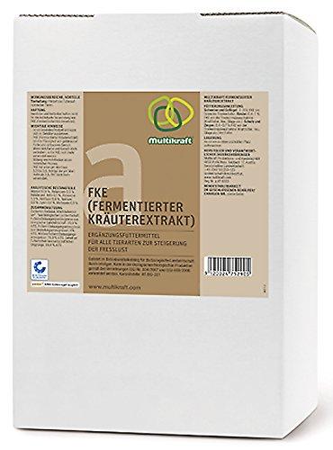 FKE a, Fermentierter Kräuterextrakt für alle Tierarten, 5 Liter Bag-in-Box, Multikraft, Effektive Mikroorganismen EM