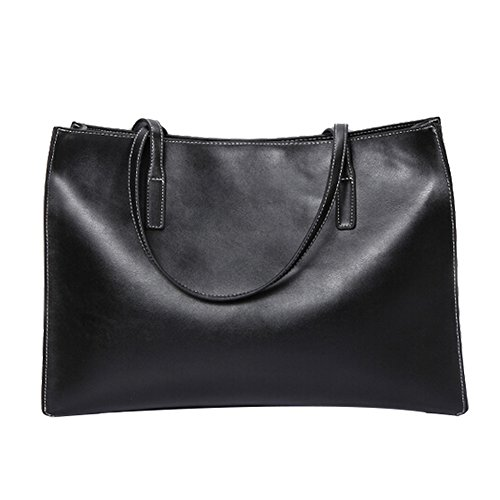 FAIRYSAN, Borsa tote donna nero black large black