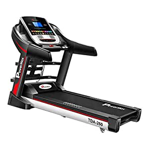 Powermax Fitness TDA-260 (2.0 Hp) Multifunction Motorized Treadmill Powered by Android Os