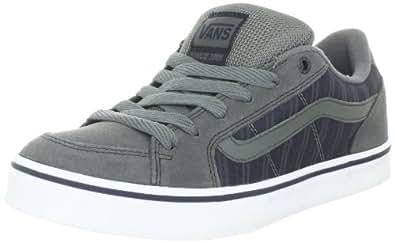 Vans Transistor VKXT6EO, Herren Klassische Sneakers, Grau ((Suit) castor grey/navy/white), EU 38.5 (US 6.5)