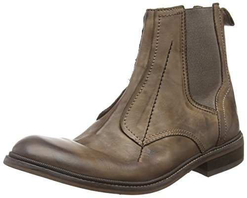 FLY London Helt814fly, Bottes Chelsea Homme Marron (Coffee 001)