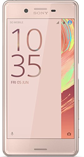 "Sony Xperia X - Smartphone libre Android (5"", 23 MP, 3 GB RAM, 32 GB), color rosa"