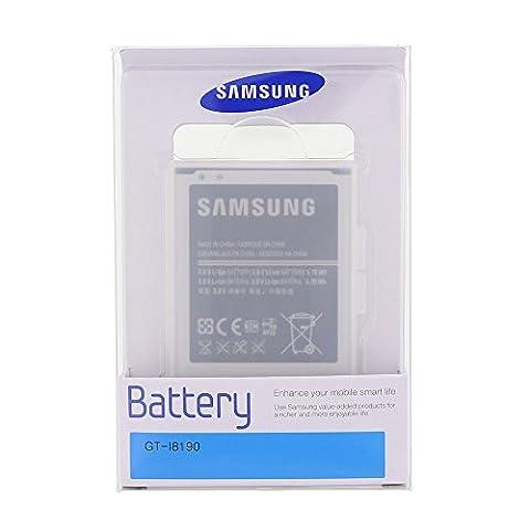 Samsung Original Akku für Galaxy S3 mini GT-i8190 (3,8 Volt, 1500mAh, Blister)