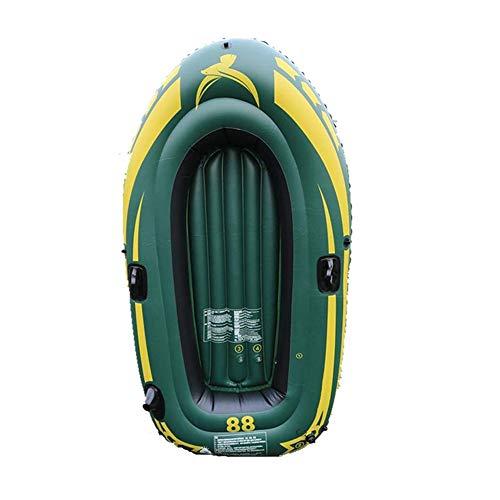 Aufblasbare Ultra-Light Wear-Resistant Fischerboot, 2 Person for alle Schwierigkeitsgrade Alles inklusive mit Stand Up mit Stand Up Paddle Board, Pumpe, ISUP Spielraum-Rucksack, Hundeleine, wasserdich