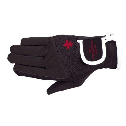 PFIFF Damen 101660 Damenreithandschuhe Handschuhe, Schwarz, S