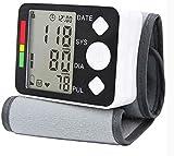 DZXYQ Tipo de Muñeca Portátil para el Hogar Esfigmomanómetro Digital Monitor de Presión Arterial Inteligente Completamente Automático