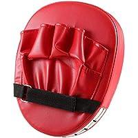 Almohadillas de Objetivo de puño de Mano Flexible Sanda Taekwondo Entrenamiento de pie Muay Thai MMA Boxeo de Mano Objetivo Karate Kung fu Pad