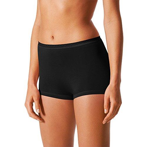 Feminines Seiden-pants (Mey 2er Pack Damen Panty Lights - 89206 - Schwarz - Größe 40 Bodysize - Damen Pants ohne Seitennähte Unterhosen für Damen- UNWAGO Set)