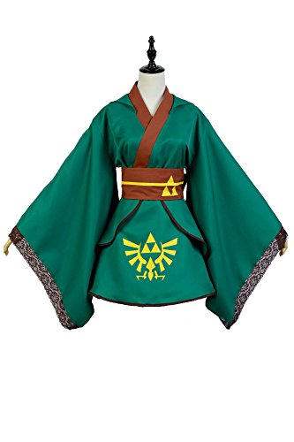 The Legend of Zelda Link Cosplay Kostüm Kleid -