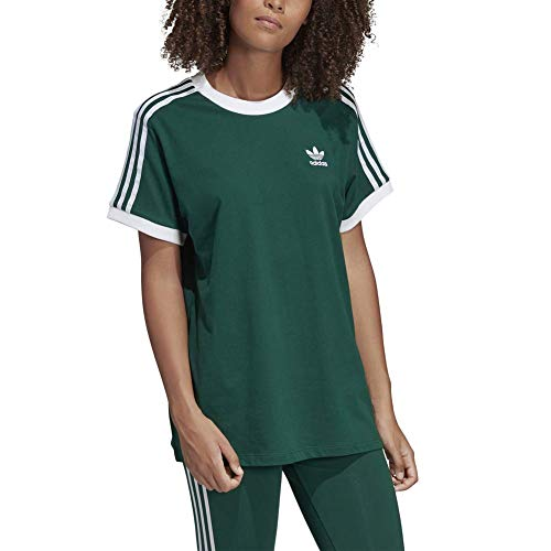 874bfee03 adidas 3 Stripes tee T-Shirt (Short Sleeve), Mujer, Collegiate Green