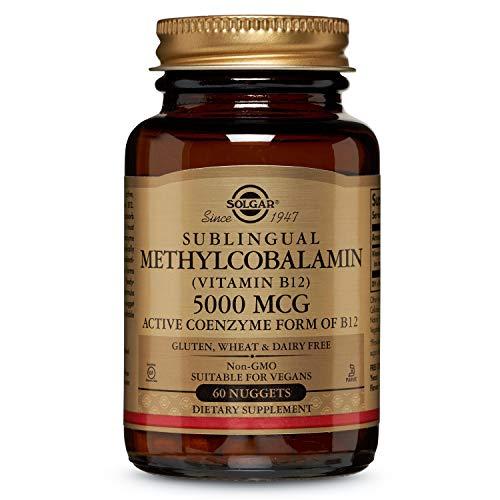 Sublingual Methylcobalamin, 5000 mcg, 60 Nuggets - Solgar -