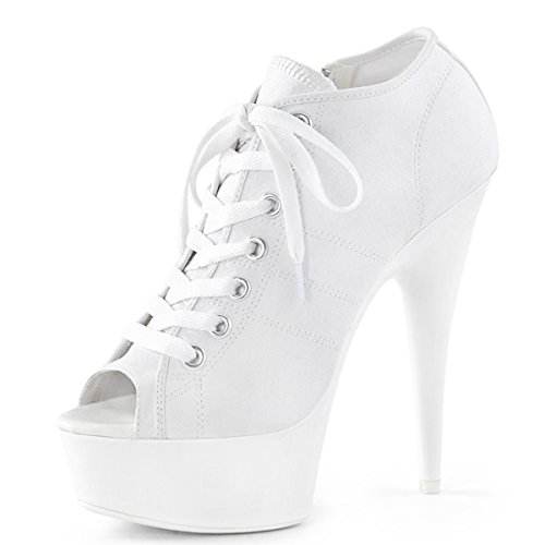 Heels-Perfect - A Collo Alto Donna Weiss (weiss)
