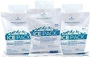 Marina Group Reusable Travel-safe Gel Bag Ice Pack - 3 packs