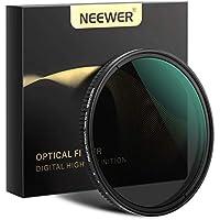Neewer 67mm Filtro ND Atenuador Variable Filtro Densidad Neutra ND2 a ND32 (Detención de 1 a 5) para Lente Cámara NO X Spot Ultra Delgado Sellado por Clima