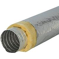 Luftrohr // Luftschlauch // Alurohr Combiconnect Aluflexrohr 10m lang 102mm Durchmesser