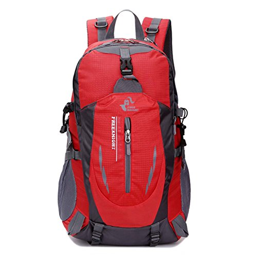 Imagen de huntvp  de alpinismo  deportiva gran  impermeable 40l para las actividades aire libre, senderismo, caza ,viajar, color rojo