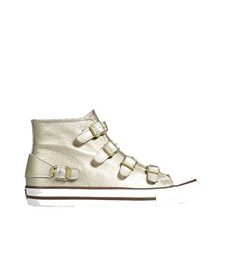 ASH Damen Hightop Sneaker Venus goldschimmernd Ariel 38 Ariel Slipper