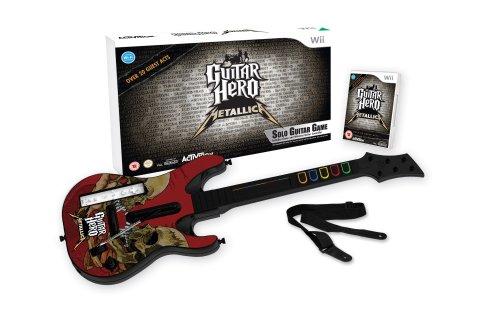 "Pack ""Guitar Hero: Metallica"" con guitarra [Nintendo Wii] [Producto Importado]"