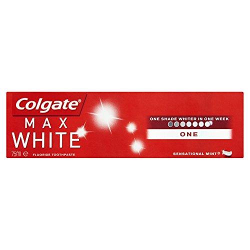 Colgate Max White One Toothpaste 75ml - Zahnpasta für strahlend weisse Zähne (Advanced White Zahnpasta)