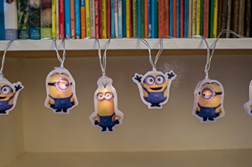 Image of Bob/Kevin and Stuart Minions String Lights - Yellow