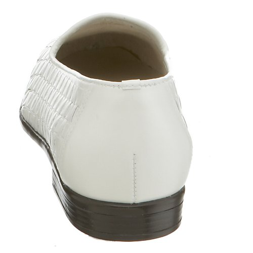 Trotters Women's Liz Loafer,White,10 N White