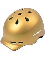 HYF-Aegis Ocio y moda bici de montaña casco ciudad ocio hombres y mujeres casco al aire libre equipo , Oro