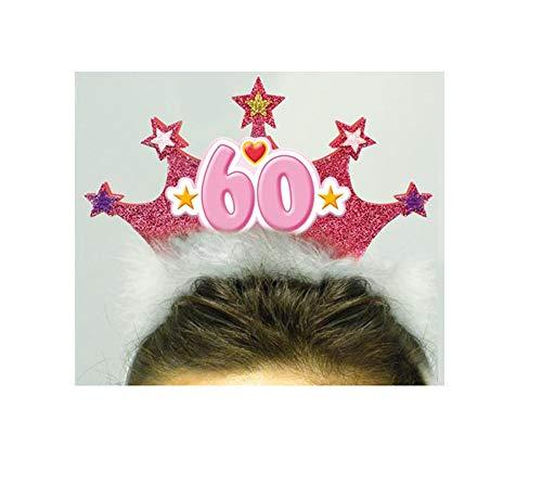 Macedonia Diadema Miss Corona 60 años cumpleaños