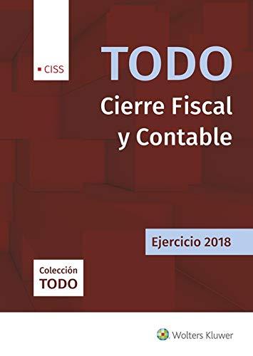 Todo cierre fiscal y contable. Ejercicio 2018