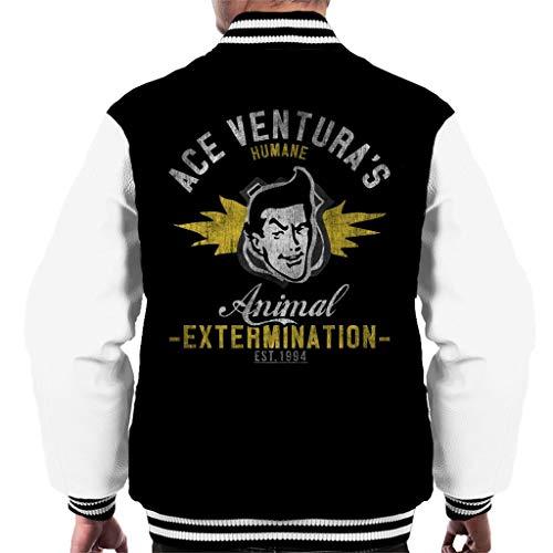 Ace Venturas Humane Animal Extermination Men's Varsity Jacket