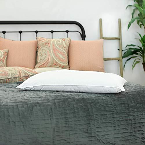 Silk Bedding Direct Almohada RELLENA DE Seda Hebras Largas de Seda de Morera. 90cm x 50cm. Hipoalergénica...