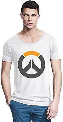 Overwatch Logo Bambú cuello ancho camiseta X-Large