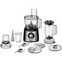 Siemens MK3501M food processor - food processors (Black, Stainless steel, Transparent, Plastic, ABS, 50/60 Hz, Stainless steel)
