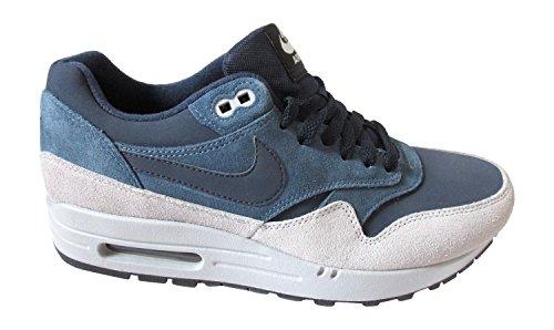 Nike Air Max 1 537383, Herren Low-top Sneaker Ossidiana Nuova Ardesia Lupo Grigio 400