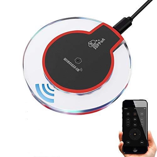 Eachen telecomando universale infrarossi per condizionatore d' aria tv dvd utilizzando tuya smart life app, controllo vocale, infrarossi telecomando funziona con google home/ifttt