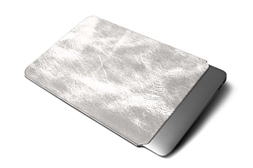 Lucrin - Housse MacBook Air 13 Pouces - Cuir Métallisé