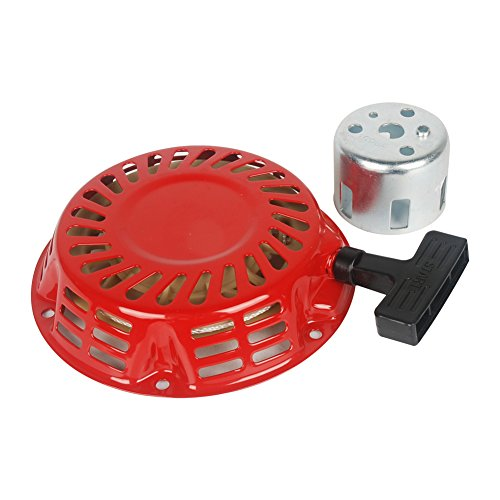 OuyFilters Pull Recoil Starter for Honda Gx120 Gx140 Gx160 Gx200 Generator 4/5.5/6.5 HP Engine (Pull Center Cup)
