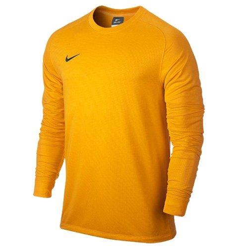 Nike Long Sleeve Top Yth Park Goalie II Jersey - Camiseta de fútbol unisex, color dorado/negro (university gold/black), talla L