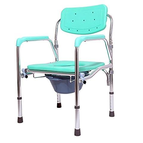 SHKD Healthcare 5 Verstellbare Höhe Kommode Stuhl und Toilette Surround