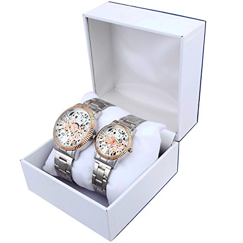 Super Drool SD0151_WT_EA  Analog Watch For Couple