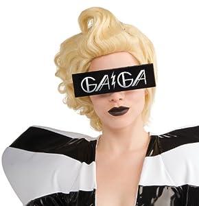 Rubies Lady Gaga glasses. (accesorio de disfraz)