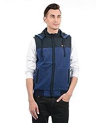 Monte Carlo Men Casual Jacket(_8907679199856_Navy_Large_)