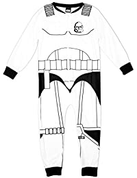 Niño Star Wars Guardia de asalto Disfraz Polar Pijama Enterizo Mono tallas desde 5 a 10 Años
