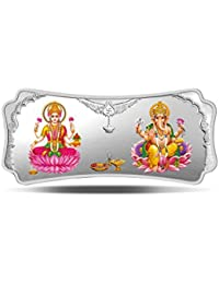 MMTC-PAMP India Pvt. Ltd. Stylized Lakshmi Ganesha 999.9 purity 50 gm Silver Bar